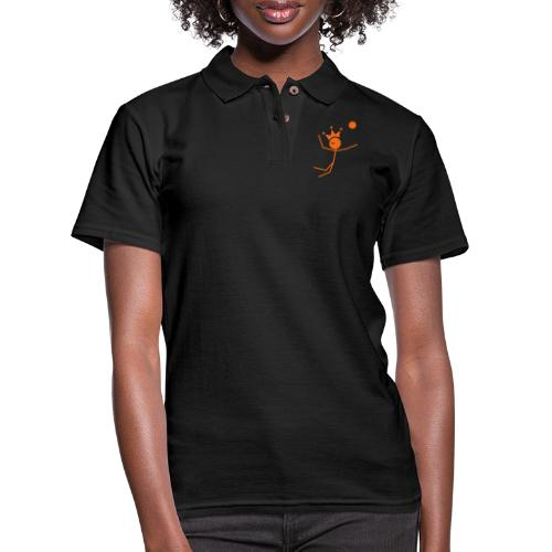 Volleyball King - Women's Pique Polo Shirt