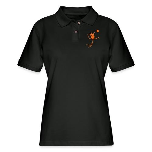 Volleyball King - Women's Pique Polo Shirt