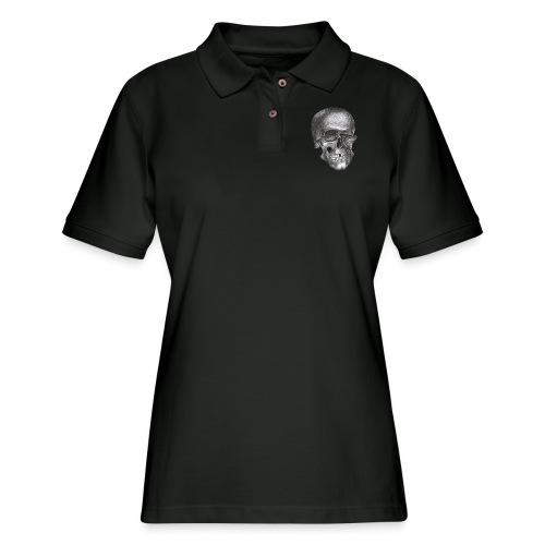 twinkle skull - Women's Pique Polo Shirt