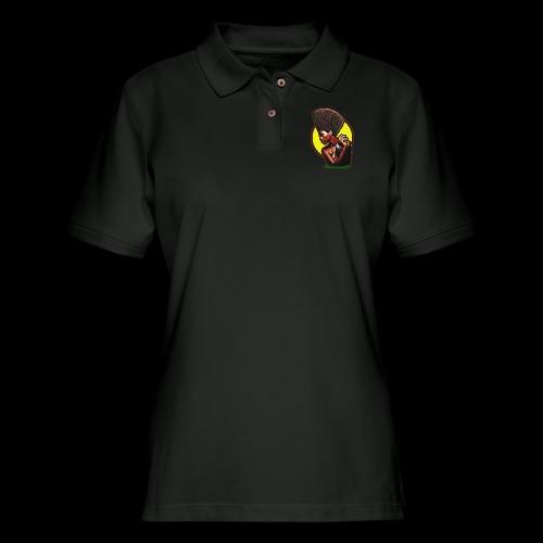 Sun Fro - Women's Pique Polo Shirt