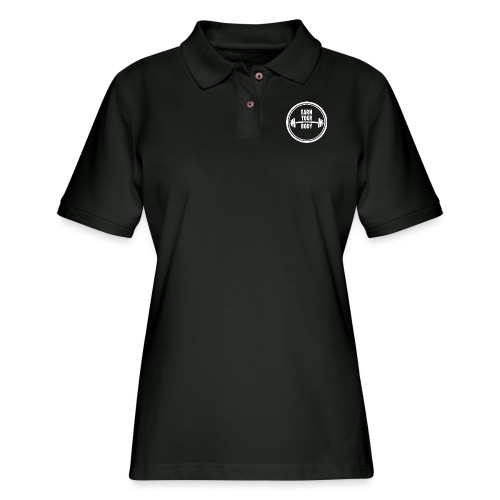 Fitness Quote Earn your body - Women's Pique Polo Shirt