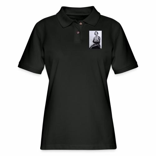 raden saleh photo sp 03 - Women's Pique Polo Shirt