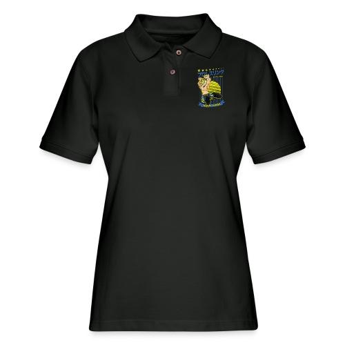 Tiger Mask - Women's Pique Polo Shirt