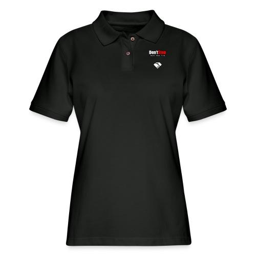 Don't Stop - Women's Pique Polo Shirt