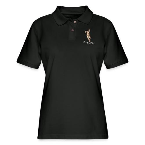 Meownster Hunters - Women's Pique Polo Shirt