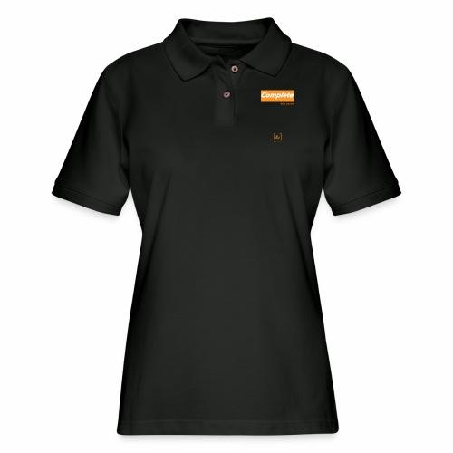 Complete the Square [fbt] - Women's Pique Polo Shirt