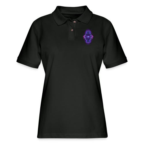 Eternal Voyage III - UV - Women's Pique Polo Shirt
