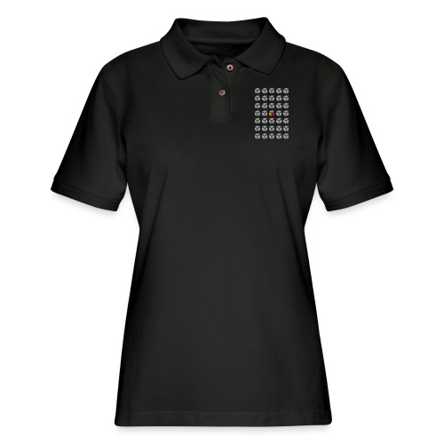 grid semantic web - Women's Pique Polo Shirt
