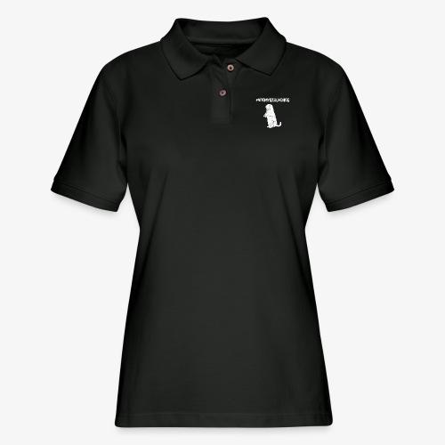 Not My Groundhog - Women's Pique Polo Shirt