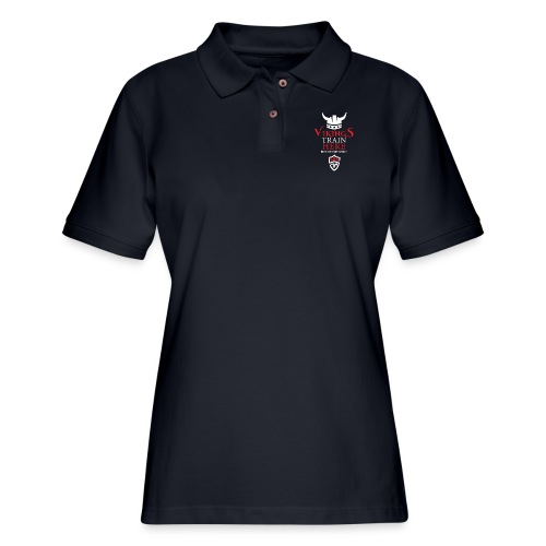 Vikings Train Here - Women's Pique Polo Shirt