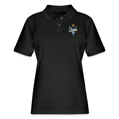 Diner Brew Company - Women's Pique Polo Shirt