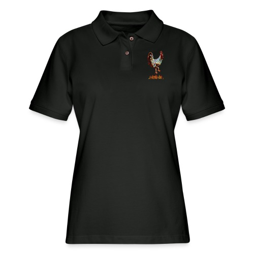A Doodle Doo - Women's Pique Polo Shirt