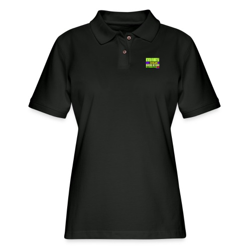 ETERNITY: YOUR BEST IS AHEAD OF YOU - Women's Pique Polo Shirt