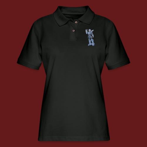 megaman X Armor png - Women's Pique Polo Shirt