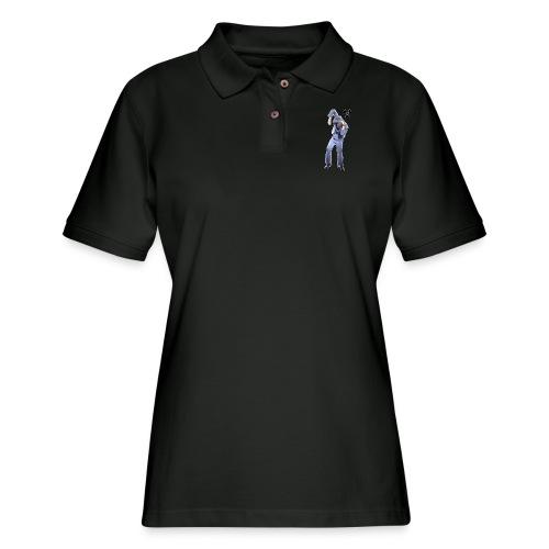 CHERNOBYL CHILD DANCE! - Women's Pique Polo Shirt