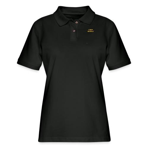 I Shit Myself - Women's Pique Polo Shirt