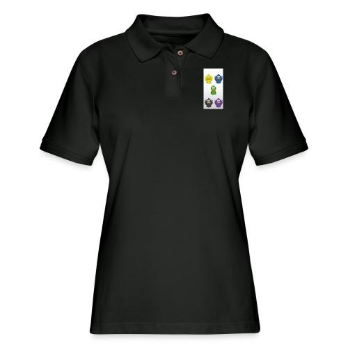 5 adiumys png - Women's Pique Polo Shirt
