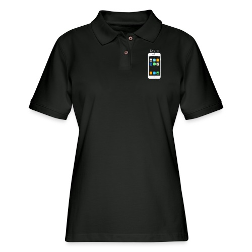 iDrone - Women's Pique Polo Shirt