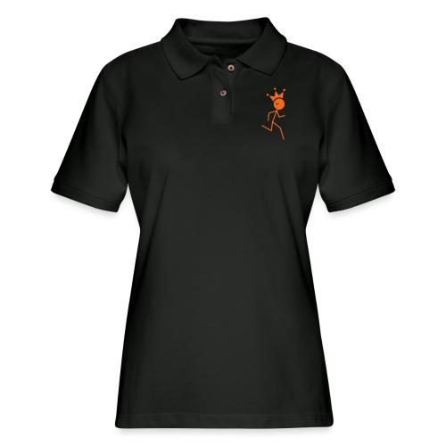 Winky Running King - Women's Pique Polo Shirt