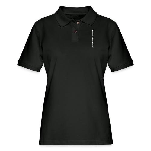 Arrive Lift Heavy Leave plus logo - Women's Pique Polo Shirt