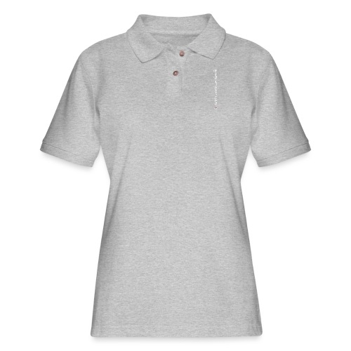 Arrive Lift Heavy Leave plus logo - Women's Pique Polo Shirt