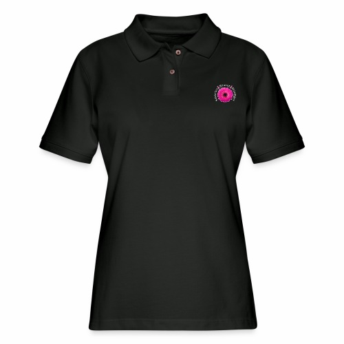 Breast Cancer Awareness Smarter Braver Stronger. - Women's Pique Polo Shirt