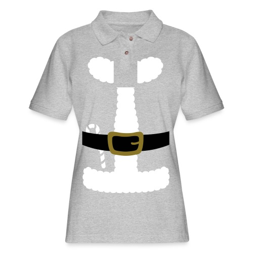 SANTA CLAUS SUIT - Men's Polo Shirt - Women's Pique Polo Shirt