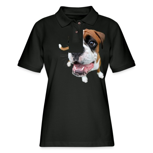 Boxer Rex the dog - Women's Pique Polo Shirt