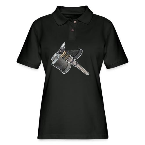Weaponized Junk Mod - Women's Pique Polo Shirt