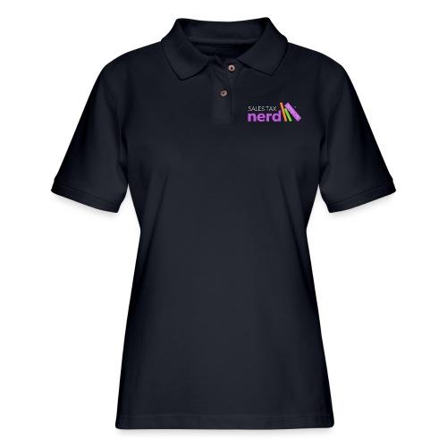 Sales Tax Nerd - Women's Pique Polo Shirt
