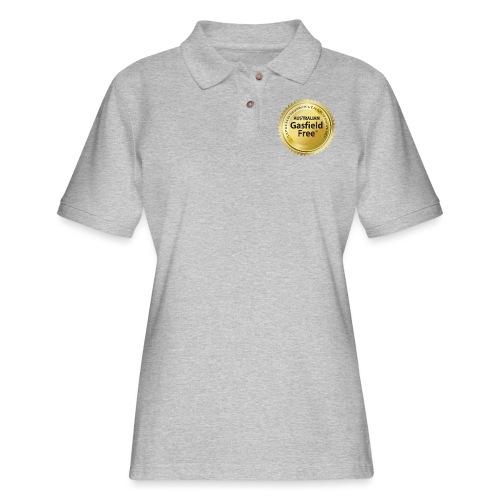 AGF Organic T Shirt - Traditional - Women's Pique Polo Shirt