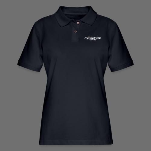 #youreGonnaNoticeUs No Mischief - Women's Pique Polo Shirt
