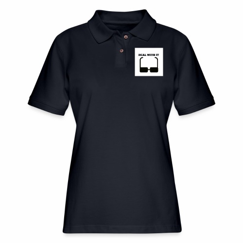 Deal with it - Women's Pique Polo Shirt