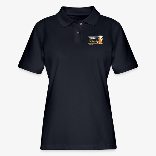 Two beer or not tWo beer - Women's Pique Polo Shirt