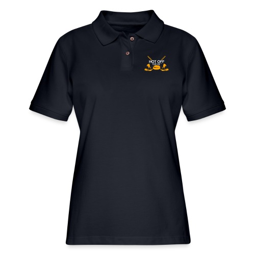 Hot Off The Ice - Women's Pique Polo Shirt