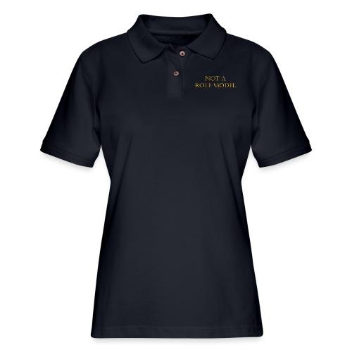 Role Model - Women's Pique Polo Shirt