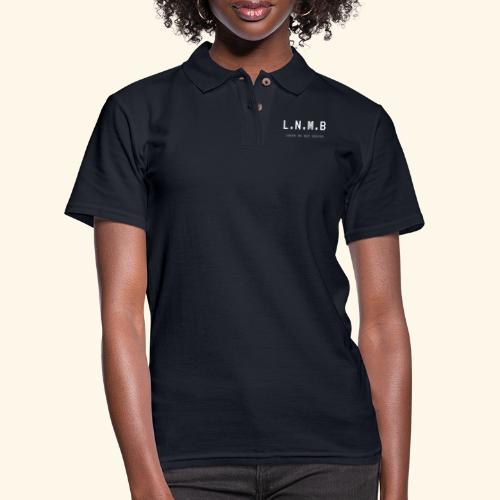 LEAVE NO MAN BEHIND - Women's Pique Polo Shirt
