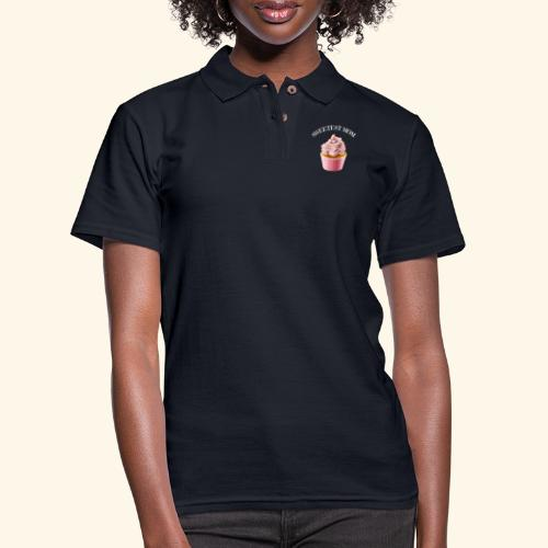 sweetest mom - Women's Pique Polo Shirt