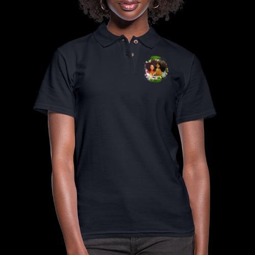 World of Curls - Women's Pique Polo Shirt