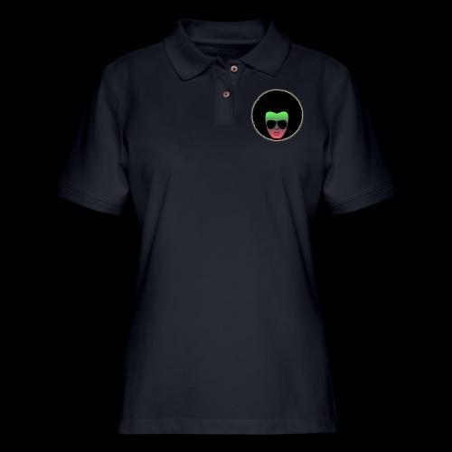 Afro Shades - Women's Pique Polo Shirt
