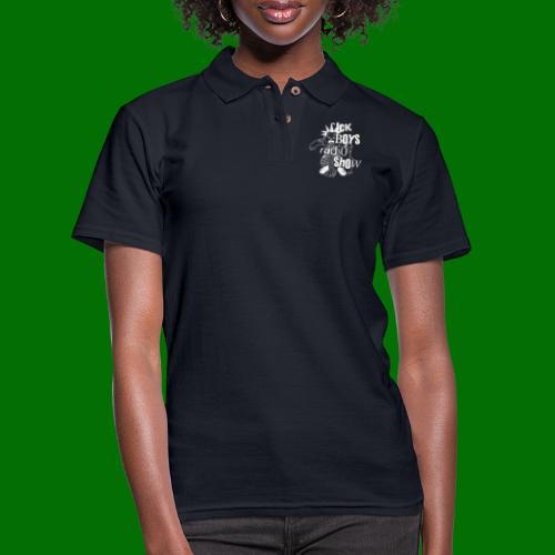 Sick Boys Puke Punk - Women's Pique Polo Shirt