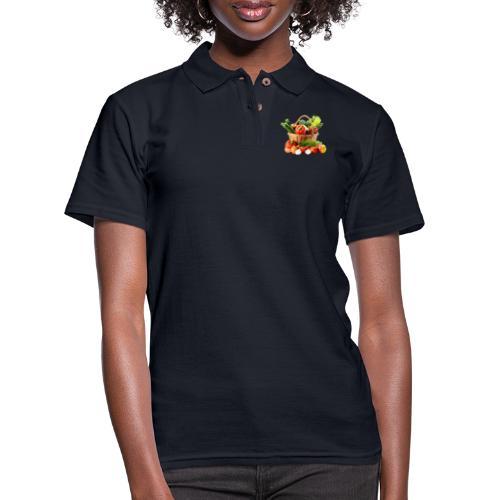 Vegetable transparent - Women's Pique Polo Shirt