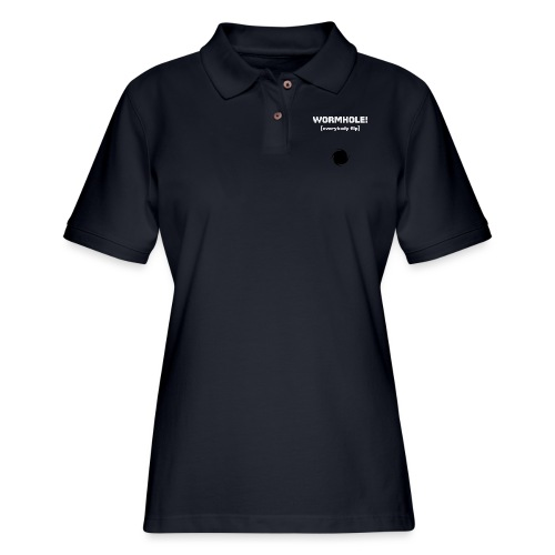 Spaceteam Wormhole! - Women's Pique Polo Shirt