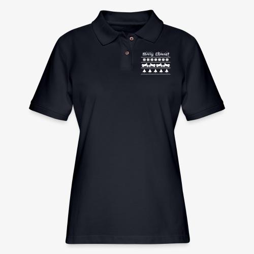 Merry CXmas! - Women's Pique Polo Shirt