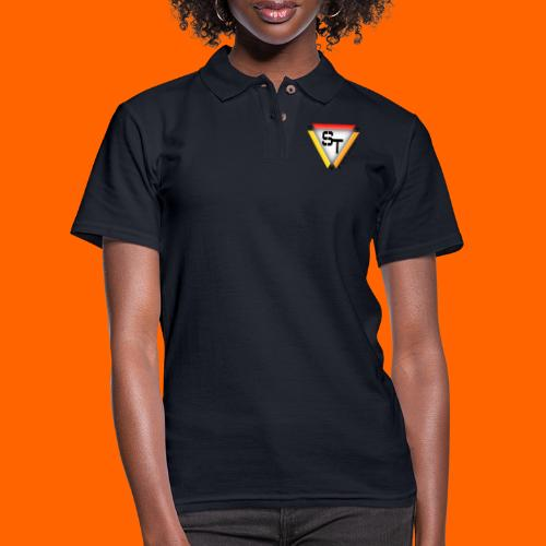 SarinTal Logo - Women's Pique Polo Shirt