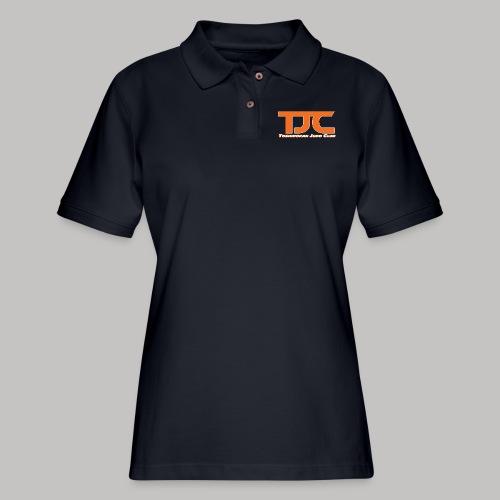 TJCorangeBASIC - Women's Pique Polo Shirt