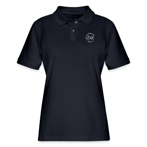 MSGN Logo - Women's Pique Polo Shirt