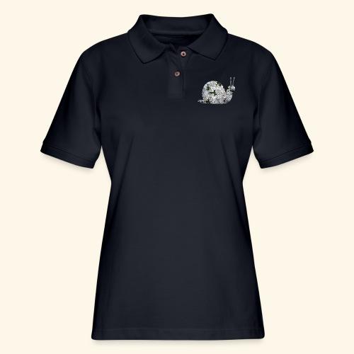 snail - Women's Pique Polo Shirt