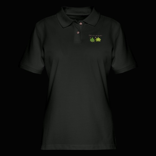 Weed Be Cute Together - Women's Pique Polo Shirt