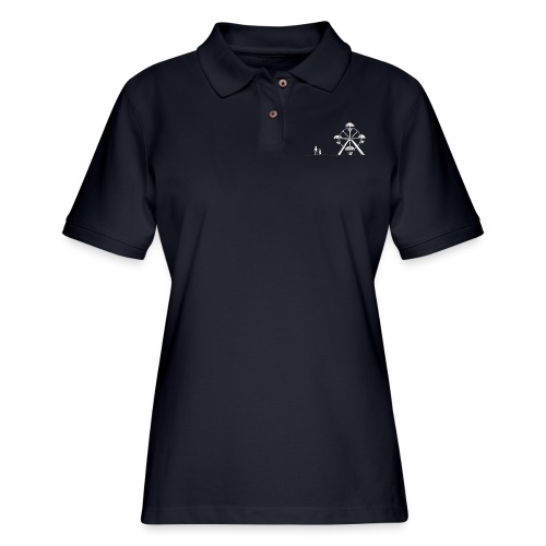 Ferris Wheel - Women's Pique Polo Shirt